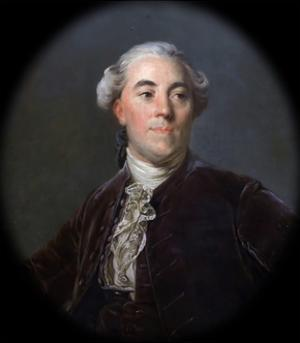 Portrait of Jacques Necker (1732-180) by Joseph-Siffred Duplessis