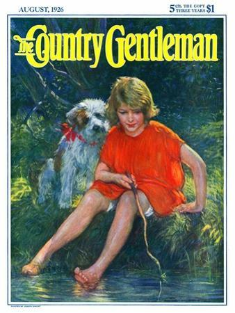 """""""Lazy Summer Day,"""" Country Gentleman Cover, August 1, 1926"""