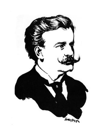 Moriz Rosenthal, Polish-American Pianist, 1912