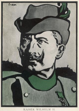 Wilhelm II 1907