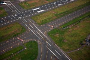 Aerials of Boston Logan International Airport by Joseph Sohm
