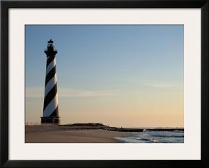 Cape Hatteras Lighthouse at Sunrise by Joseph Sohm