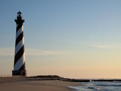 Cape Hatteras Lighthouse at Sunrise by Joseph Sohm