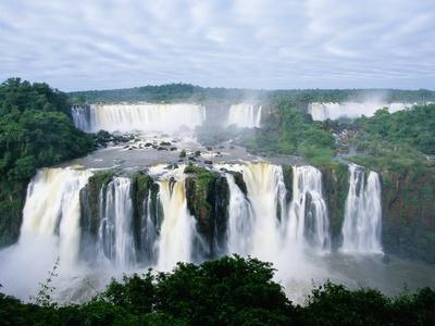 Iguazu Waterfalls in South America