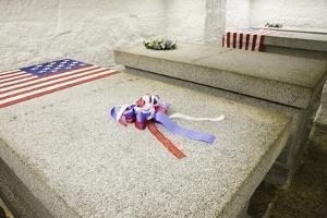 John Adams and John Quincy Adams Burial Tomb by Joseph Sohm