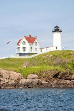 Nubble Lighthouse, Cape Neddick, York, Maine by Joseph Sohm