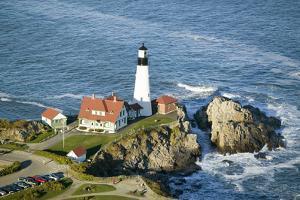Portland Head Lighthouse, Cape Elizabeth, Maine by Joseph Sohm