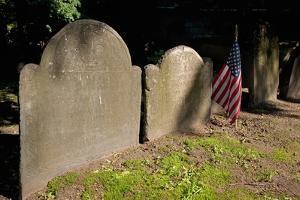 Revolutionary War Tombstones by Joseph Sohm