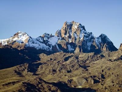 Snow on Mount Kenya by Joseph Sohm