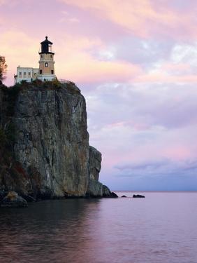 Split Rock Lighthouse on Lake Superior by Joseph Sohm