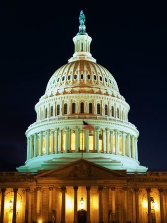 U.S. Capitol at Night by Joseph Sohm