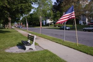 US Flag on Memorial Day, Concord, MA by Joseph Sohm