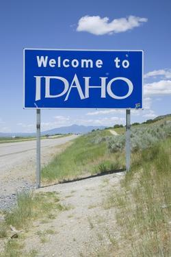 Welcome to Idaho by Joseph Sohm