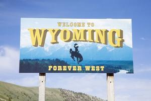 Welcome to Wyoming, Forever West by Joseph Sohm