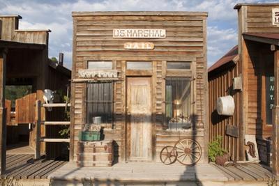 Western US Jail and Marshall's Office, Ridgway, Colorado by Joseph Sohm