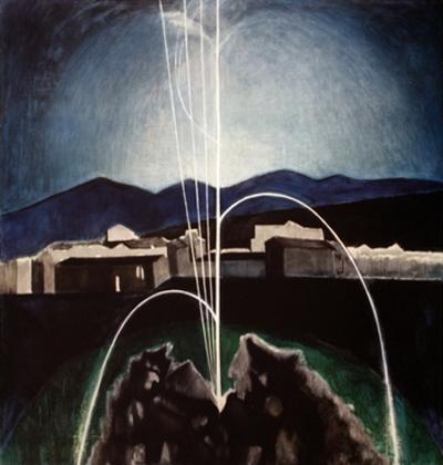 Voice of the Nightingale by Joseph Stella