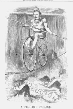 A Perilous Passage, 1869 by Joseph Swain