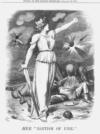Her Baptism of Fire, 1871