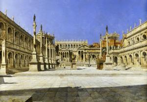 The Roman Forum by Joseph Theodore Hansen