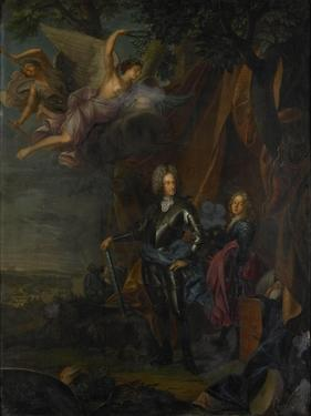 Portrait of Maximilian II, Elector of Bavaria, at the Battle of Mohacs Against the Turks by Joseph Vivien