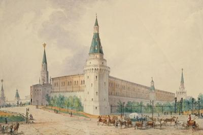 The Resurrection Square and the Alexander Garden in Moscow