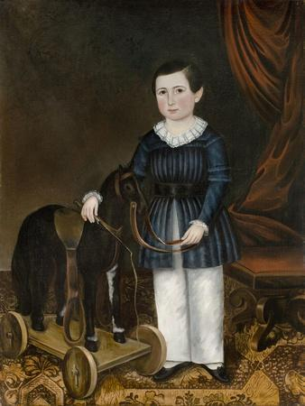 Boy with a Toy Horse, C.1845