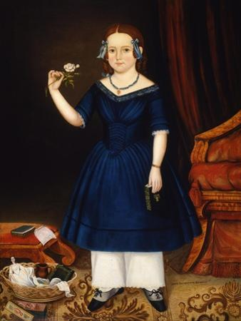 Jane Henrietta Russell, 1844 by Joseph Whiting Stock
