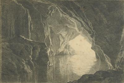 A Grotto in the Gulf of Salerno, Evening, C.1800