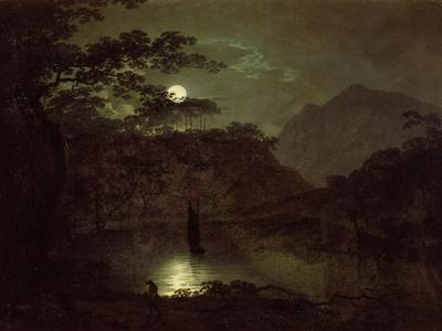 A Lake by Moonlight, c.1780-82