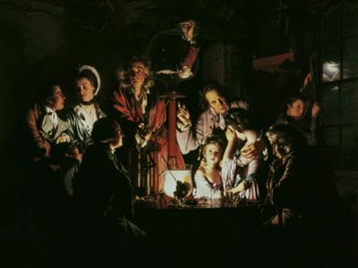 An Experiment on a Bird in the Air Pump, 1768 by Joseph Wright of Derby