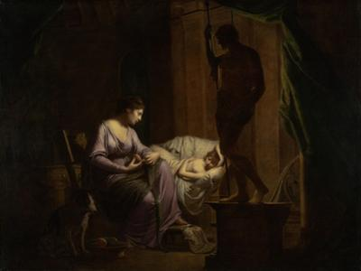 Penelope Unraveling Her Web, 1783-4
