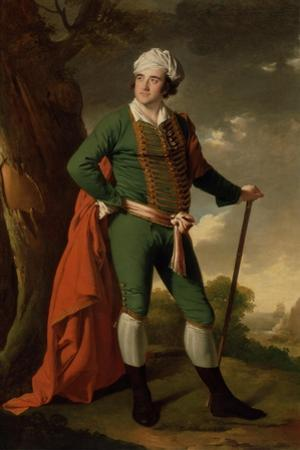 Portrait of a Man, known as the 'Indian Captain', C.1767