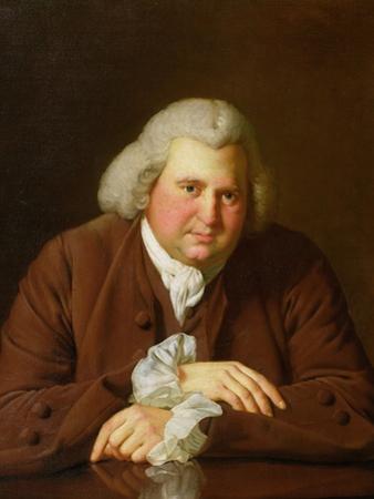 Portrait of Dr Erasmus Darwin (1731-1802) Scientist, Inventor, Poet, Grandfather of Charles Darwin