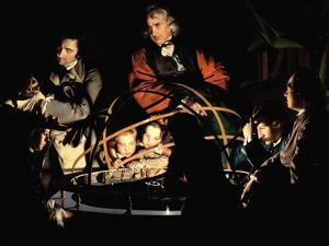 The Orrery, Exh. 1766 by Joseph Wright Of Derby