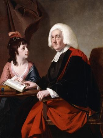 Portrait of the Rev.Thoms Wilson D.D. and His Adopted Daughter, Miss Catherine Macauley
