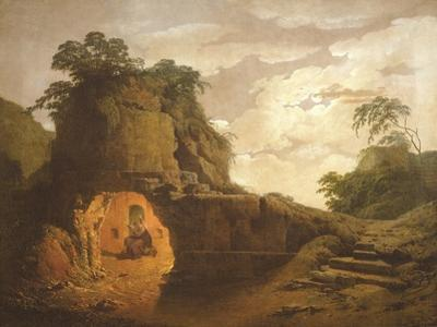 Virgil's Tomb, with the Figure of Silius Italicus, 1779