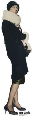 Josephine as Tony Curtis - colored