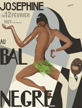 Josephine Baker - Au Bal Negra (The Black Ball) - le 12 Février 1927 (February 12, 1927)