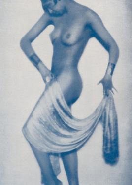 Josephine Baker Folies Bergere Dancer