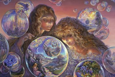 Bubble World by Josephine Wall