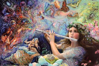Enchanted Flute by Josephine Wall