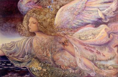 Natures Guardian Angel by Josephine Wall