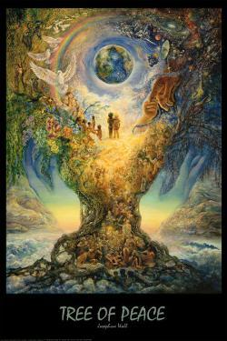 Tree Of Peace by Josephine Wall