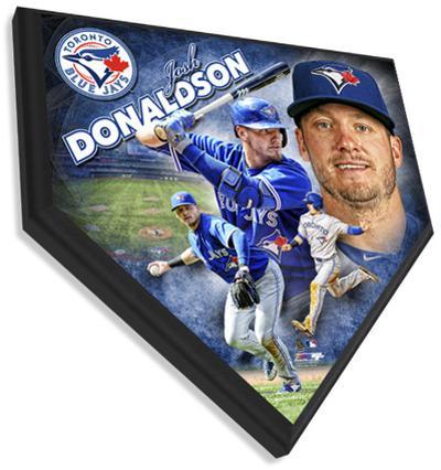 Josh Donaldson Home Plate Plaque