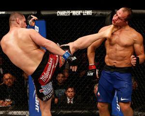 UFC 155: Dec 29, 2012 - Junior dos Santos vs Cain Velasquez by Josh Hedges