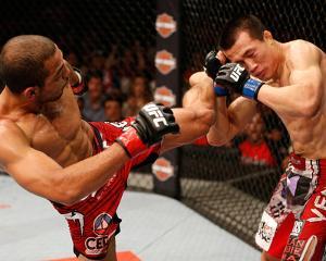 UFC 163: Aug 3, 2013 - Jose Aldo vs 'The Korean Zombie' Chan Sung Jung by Josh Hedges