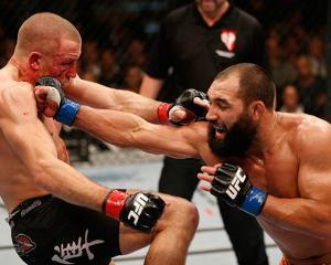 UFC 167: Nov 16, 2013 - Johny Hendricks vs Georges St-Pierre by Josh Hedges