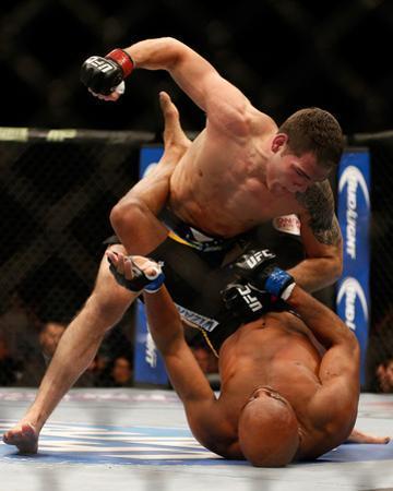 UFC 168: Dec 28, 2013 - Chris Weidman vs Anderson Silva by Josh Hedges