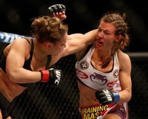 UFC 168: Dec 28, 2013 - Ronda Rousey vs Miesha Tate by Josh Hedges