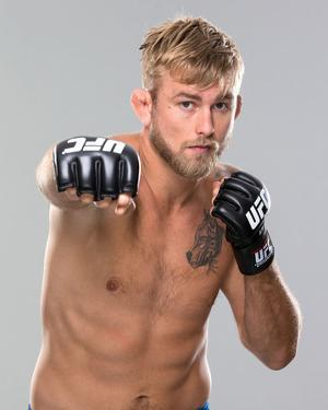 UFC Fighter Portraits: Alexander Gustafsson by Josh Hedges